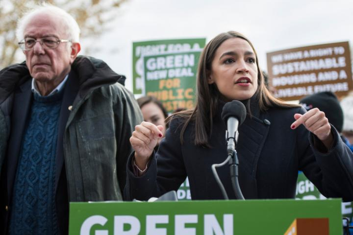 AOC and Bernie Are Teaming Up to Get Biden to Declare Climate Change a National Emergency