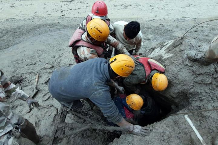 Many die, hundreds missing as Himalayan glacier bursts in India